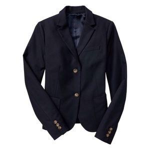 nwot gap navy academy blazer